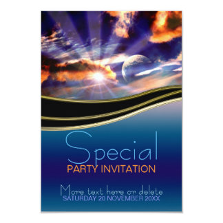 New Beginnings Sunrays Special party Invitation