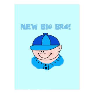 New Big Bro Baseball Tshirts and Gifts Postcards