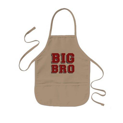 New BIG BRO Kids Apron