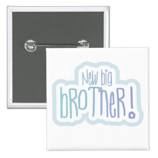 New Big Brother Tshirts and Gifts 15 Cm Square Badge