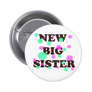 New Big Sister 6 Cm Round Badge
