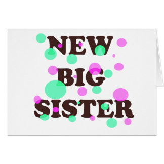 New Big Sister Cards