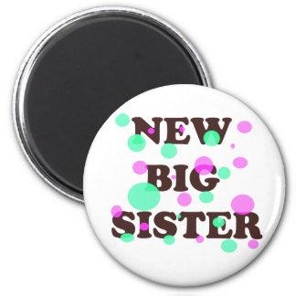 New Big Sister Refrigerator Magnet