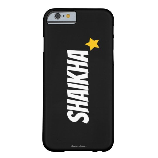 new black barely there iPhone 6 case