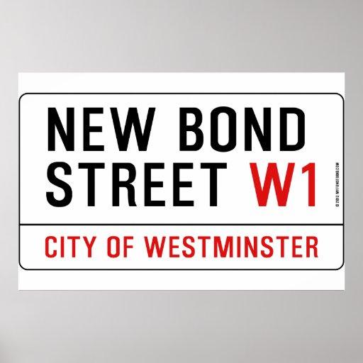 New Bond Street Poster