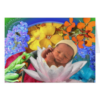 New born Baby Greeting Card