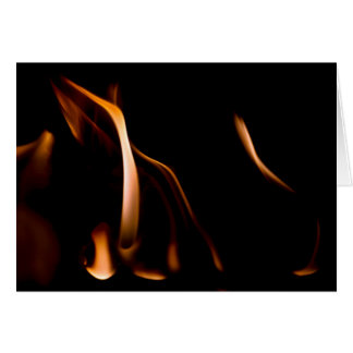New Born Fire Greeting Card