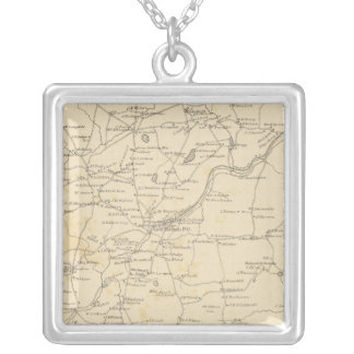 New Boston, Hillsborough Co Silver Plated Necklace