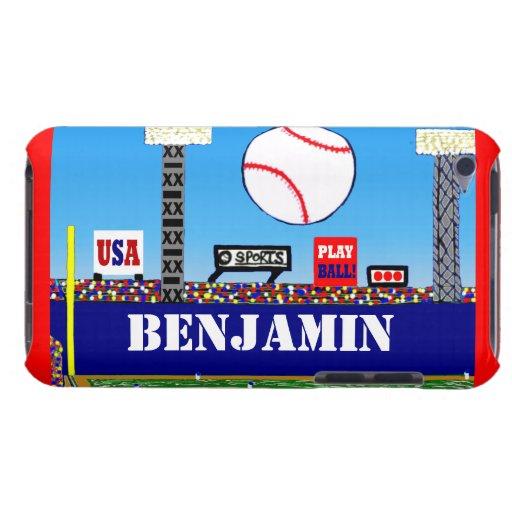 New Boys Baseball Sports Custom iPod Touch Case