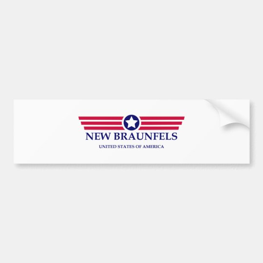 New Braunfels Pride Bumper Sticker
