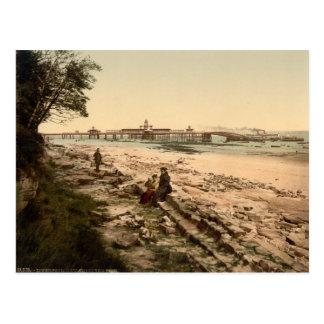 New Brighton Pier, Liverpool, Merseyside, England Postcard