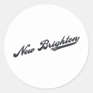 New Brighton Round Sticker