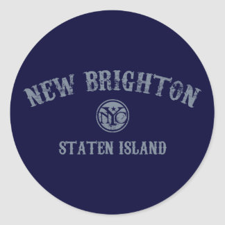 New Brighton Round Sticker