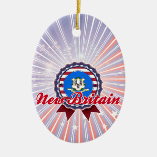 New Britain, CT Christmas Ornament