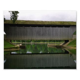 New Brownsville Covered Bridge Photo Art