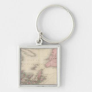 New Brunswick and Nova Scotia Key Ring