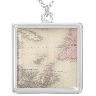 New Brunswick and Nova Scotia Silver Plated Necklace