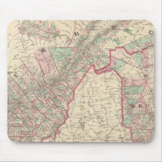 New Brunswick and Quebec Mouse Mat