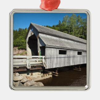New Brunswick, Canada. Irish River covered Christmas Ornament