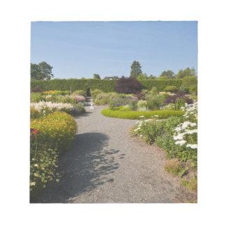 New Brunswick, Canada. Kingsbrae Garden in St. Notepad