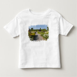 New Brunswick, Canada. Kingsbrae Garden in St. Shirts