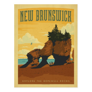 New Brunswick, Canada Postcard