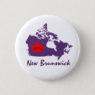 New Brunswick Customize Canada pin button