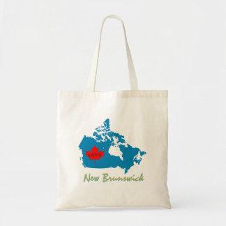 New Brunswick Customize Canada Province bag