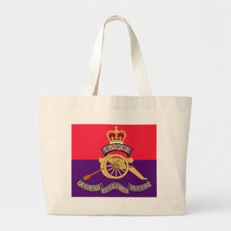 New Brunswick Field Artillery Crest Canvas Bags