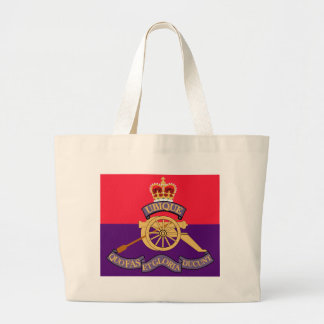 New Brunswick Field Artillery Crest Jumbo Tote Bag