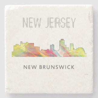 NEW BRUNSWICK, NEW JERSEY SKYLINE WB1 - STONE COASTER