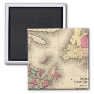 New Brunswick, Nova Scotia, Newfoundland 3 Magnet