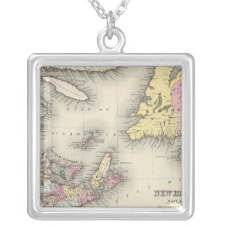 New Brunswick, Nova Scotia, Newfoundland Silver Plated Necklace