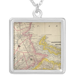 New Brunswick, Nova Scotia Silver Plated Necklace