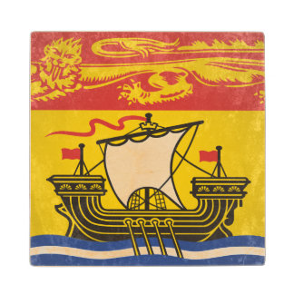 New Brunswick Wood Coaster