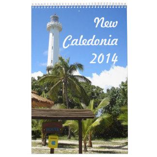 New Caledonia 2014 (1p) Wall Calendars