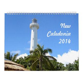 New Caledonia 2014 (2p) Calendars