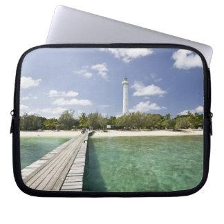 New Caledonia, Amedee Islet. Amedee Islet Pier. Laptop Sleeve