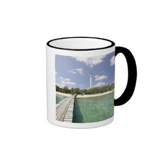 New Caledonia, Amedee Islet. Amedee Islet Pier. Ringer Mug
