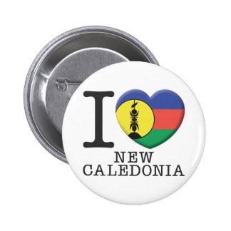 New Caledonia Pinback Button