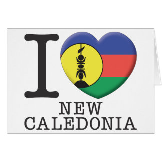New Caledonia Greeting Cards