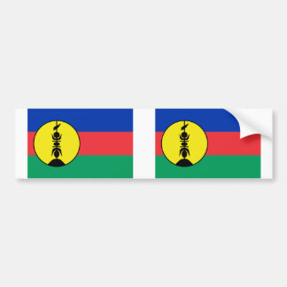 New Caledonia, Democratic Republic of the Congo Bumper Sticker