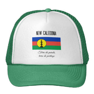 New Caledonia, Flag and Motto Cap