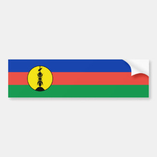 New Caledonia Flag Bumper Sticker