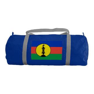 NEW CALEDONIA FLAG GYM DUFFEL BAG