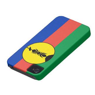new caledonia flag iPhone 4 Case-Mate case