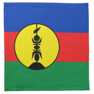 New Caledonia Flag Napkin
