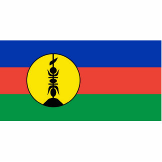 new caledonia flag cut outs