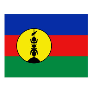 New Caledonia Flag Postcard