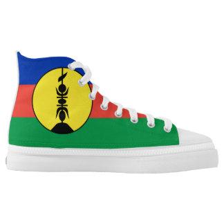New Caledonia flag Printed Shoes